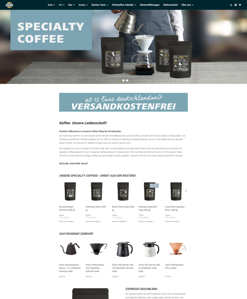 Azul Kaffee